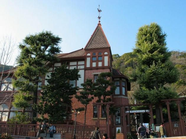 神戸異人館の風見鶏の館