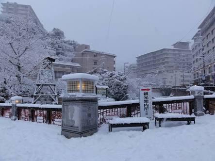 冬の有馬温泉