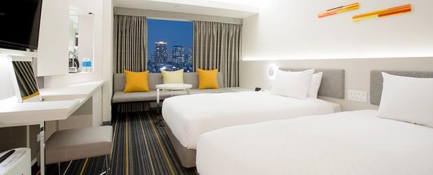 ホテル日航大阪の客室一例