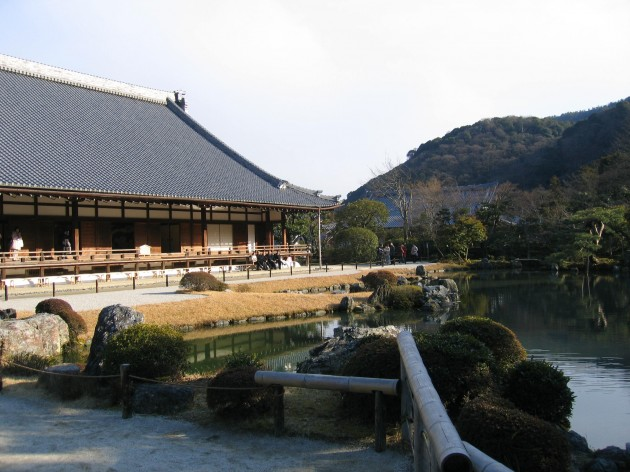 京都天龍寺 別アングル