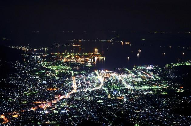 灰ヶ峯夜景