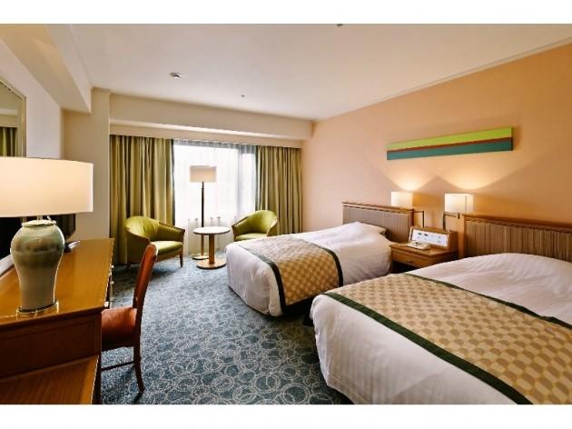 ホテルクレメント徳島の客室一例