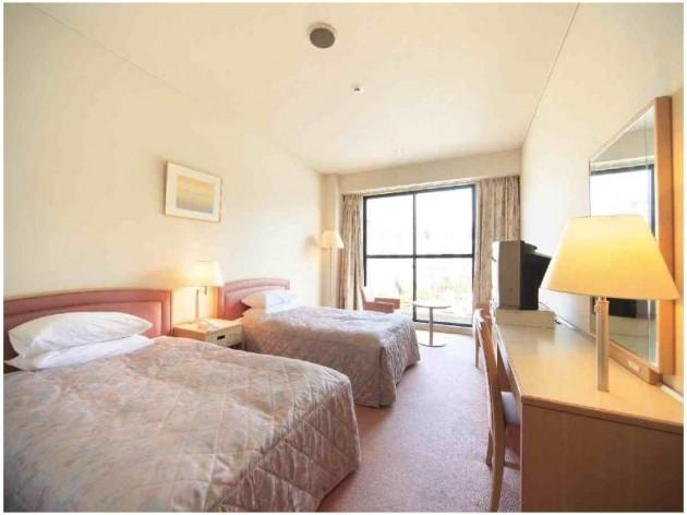 ホテルアジュール 汐の丸の客室一例