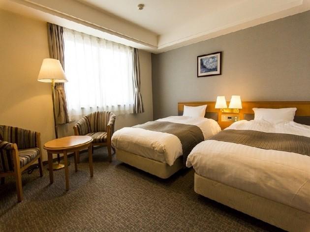 今治アーバンホテルの客室一例