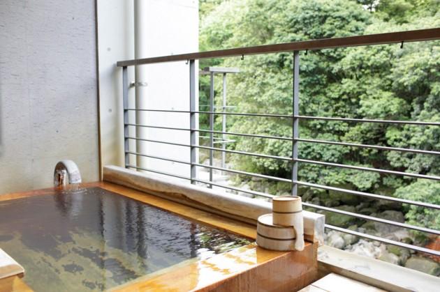 妙見石原荘の部屋のお風呂