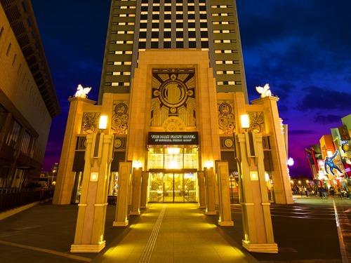 ザ パーク フロント ホテル アット ユニバーサル・スタジオ・ジャパンの外観
