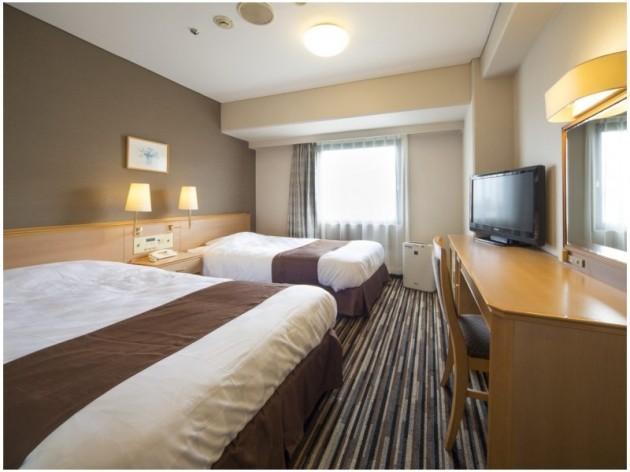 徳島東急REIホテルの客室一例
