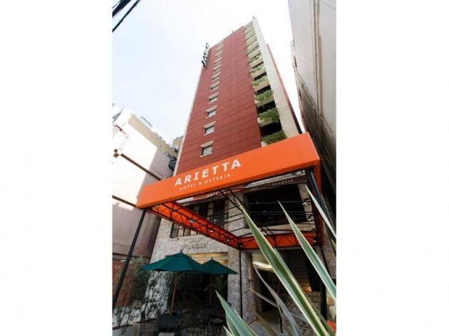 アリエッタホテル大阪の外観