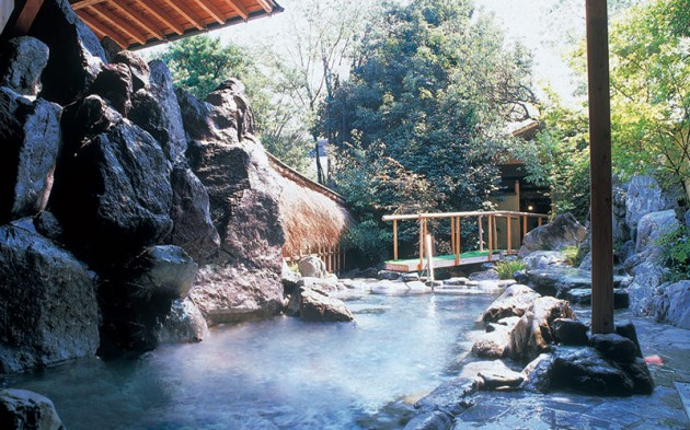 原鶴温泉、ホテルパーレンス小野屋