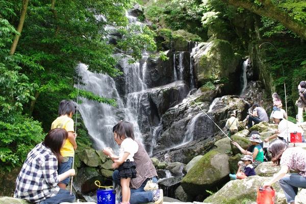 白糸の滝・福岡県糸島