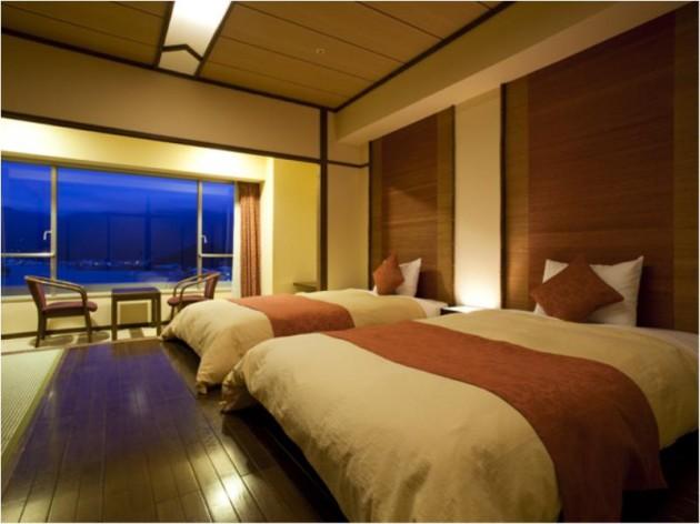 ベイリゾートホテル小豆島の客室一例