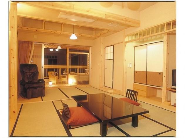 伏尾温泉 不死王閣の客室一例
