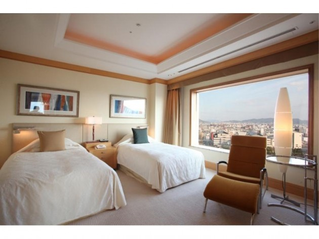 JRホテルクレメント高松の客室一例