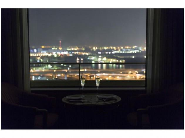 ホテル・アゴーラ リージェンシー堺からの夜景