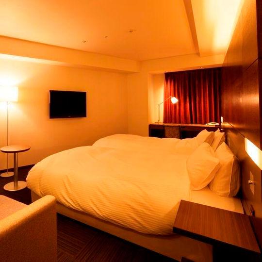 ワークホテルアネックス天神の湯の客室
