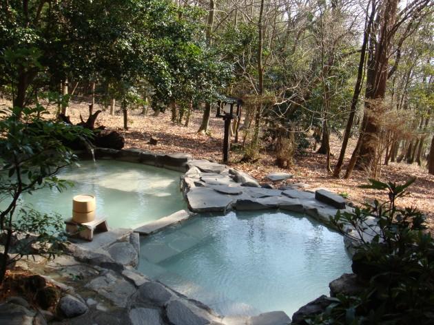 旅行人山荘露天風呂