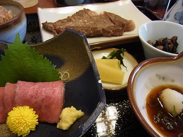 近江八幡市 毛利志満 近江八幡本店 料理
