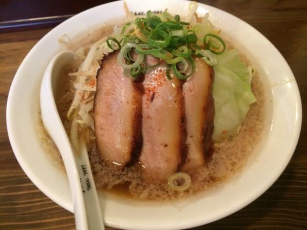 彦根市 麺屋 半蔵 彦根店 ラーメン