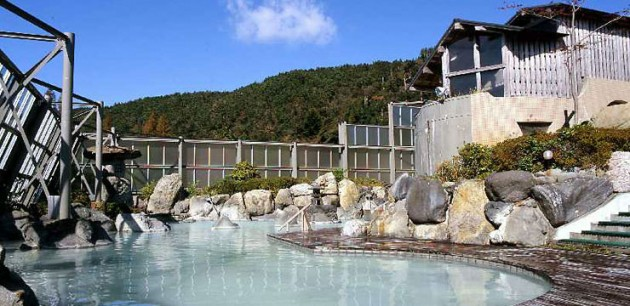 霧島いわさきホテルの温泉