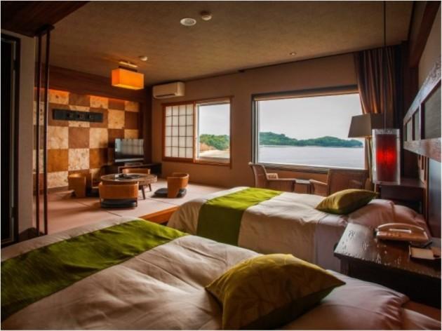 小豆島国際ホテルの客室一例2