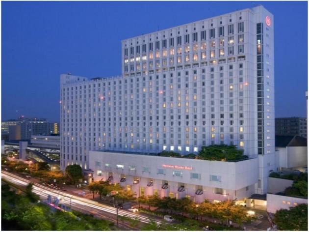 シェラトン都ホテル大阪の外観