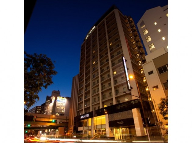 アパホテル<御堂筋本町駅前> の外観