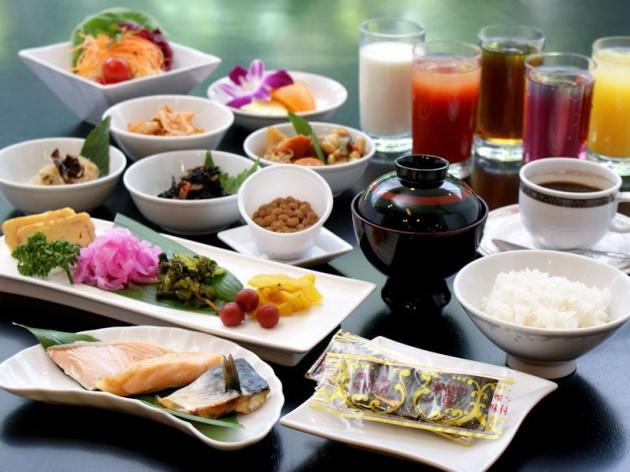 ホテルプラザオーサカの食事例
