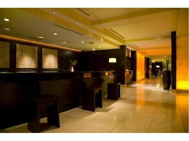 シェラトン都ホテル大阪のロビーの様子