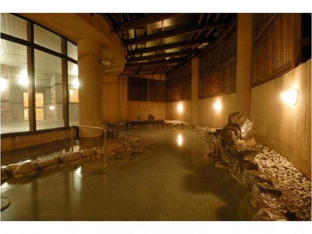 牛滝温泉 いよやかの郷の露天風呂