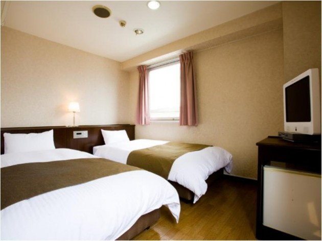 高槻W&Mホテルの客室一例