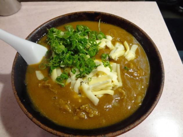 三国そばの料理