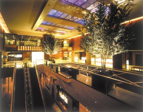 ホテル日航大阪のロビーの様子
