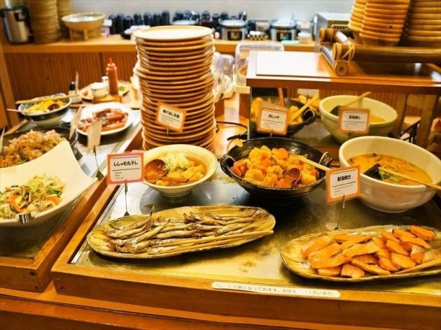 ダイワロイネットホテル高松の朝食