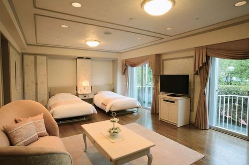 千里阪急ホテルの客室一例
