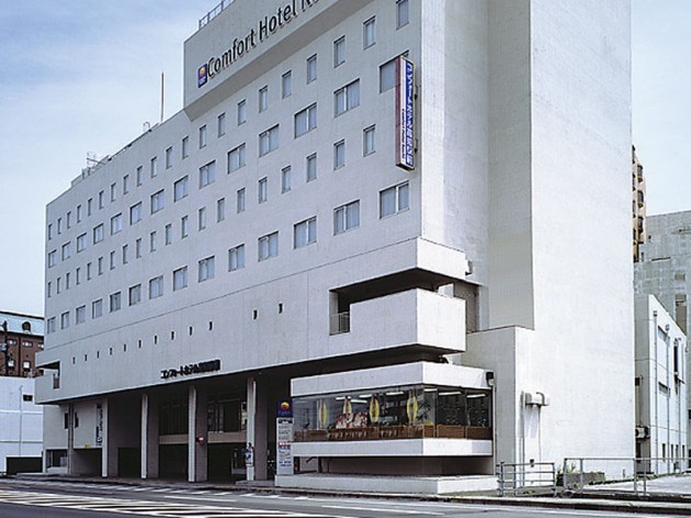 コンフォートホテル高知駅前の外観
