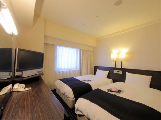 アパヴィラホテル<淀屋橋>(アパホテルズ&リゾーツ)の客室一例