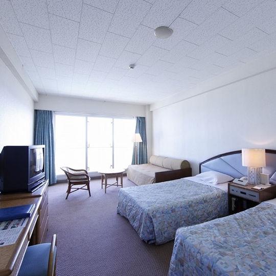 いーふビーチホテルオーシャンビュー部屋