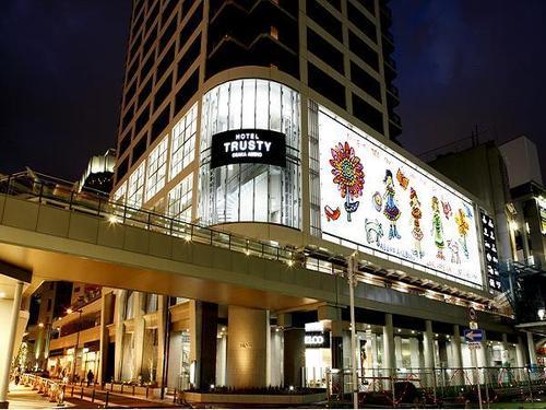 ホテルトラスティ大阪阿倍野の外観