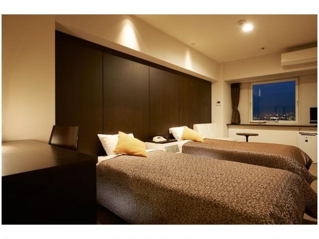 ホテルプラザオーサカの客室一例
