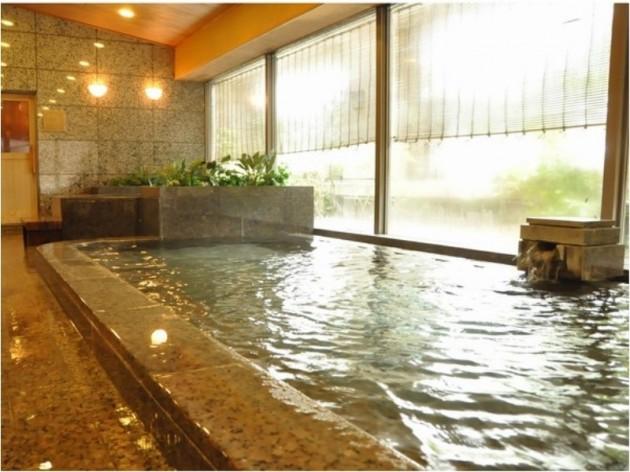今治国際ホテルの大浴場