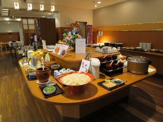 徳島東急REIホテルの朝食一例