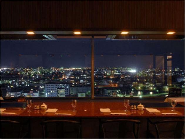 徳島グランヴィリオホテルからの夜景
