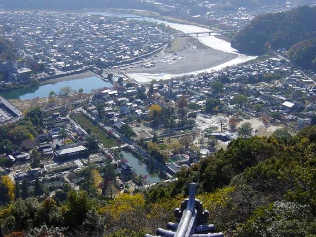 岩国城からの景色