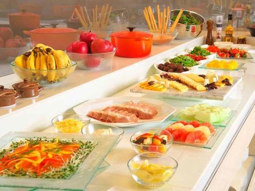 大阪マリオット都ホテルの朝食例