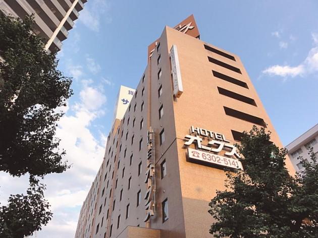 ホテルオークス新大阪の外観