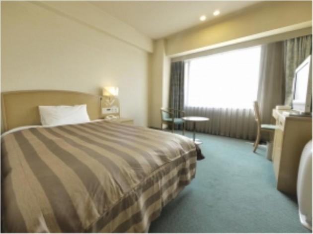 徳島グランヴィリオホテルの客室一例