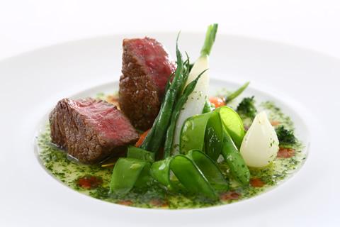 伝統的なフランス料理