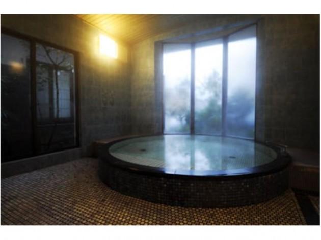 割烹旅館亀屋の大浴場