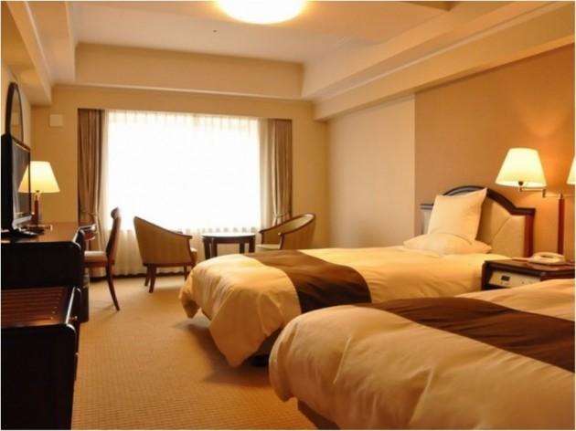今治国際ホテルの客室一例