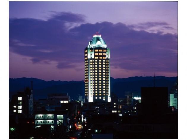 今治国際ホテルの外観